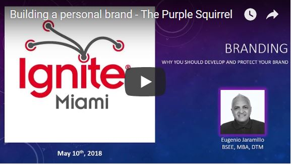 The Genesis of the Purple Squirrel