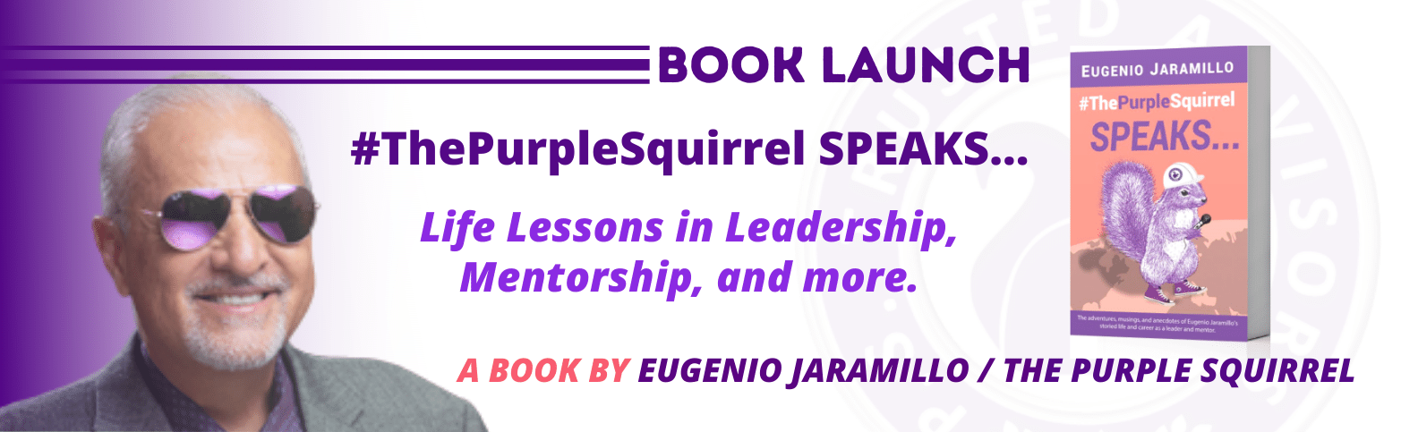 The Purple Squirrel SPEAKS book by Eugenio Jaramillo
