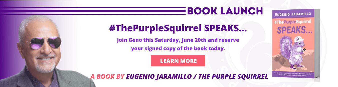 Book #ThePurpleSquirrel SPEAKS...
